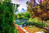 Mackinac Island Secret Garden by Katharine Rose Witt