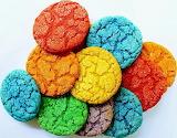 Colorful cookies @ themondaybox.com