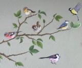 Lovely bird wallpaper