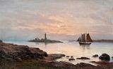 Frans Maexmontan, Sailing at Night