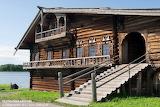 Karelia peasant house island