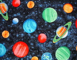 Outer space planets