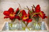 Decoration flower red bouquet