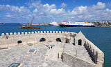 Heraklion fortress in the old port