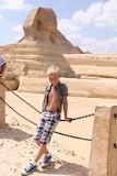 Boy in Egypt