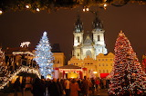 Prague, Christmas market, Cz