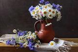 Daisy and cornflower