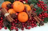 Mandarines, baies et cannelle...