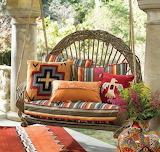 Swing on the veranda