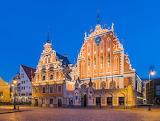 House of Blackheads , Riga, Latvia