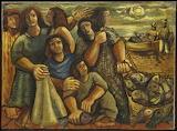 Pescadores by Emiliano di Cavalcanti 1948