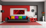 ^ Bright interior colors