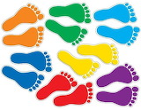 Rotate the footprints