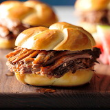 ^ Pulled Brisket Sandwiches