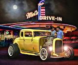 Mel's Drive-In Hot Rod