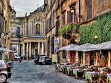 historic district, rome