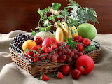 Variadas frutas