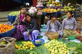 Street market, Asia