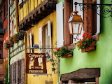 fairy tale Riquewihr, Alsace, France