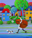 Musical goldfish - Iwona Lifsches