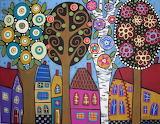 Trees in Bloom - Karla Gerard