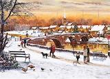 Richard Macneil - Winter Sunset