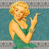 Retro-smoking-lady-collage