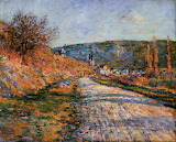 The Road to Vetheuil, 1880
