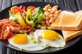^ Breakfast