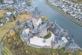 Cochem Castle Aerial Photo