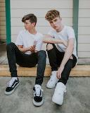 Teens in sneakers