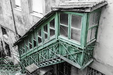 Burgos, Escalier vert, Espagne
