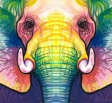 Lucky elephant spirit, Sarah Peltier
