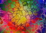 Viele Farben abstrakt