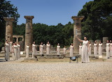 Ancient Olympia,olympic flame