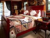 Log-Cabin-Quilt-on-Bed