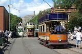 Vintage trams Derbyshire