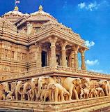 Close up of Akshardham temple