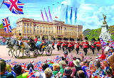 Buckingham Palace Trooping The Colour