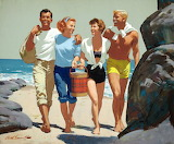 Beach Group illustration by Arthur Sarnoff
