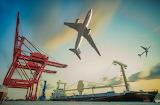 aircraft and ship