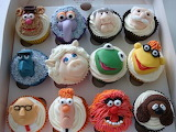 Muppets cupcakes