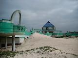 Abandoned Macassar Beach Pavilion Cape Town South africa