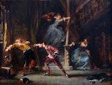 The Duel Eugene Louis Gabriel Isabey