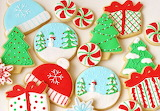 #Royally Iced Christmas Sugar Cookies