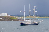 Ship In Portstewart Bay