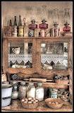 Art Antique Cabinet