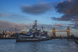 HMS Belfast and that bridge.