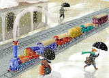 A funny train - Marina Seoane