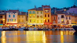 Cassis by night, Southern France